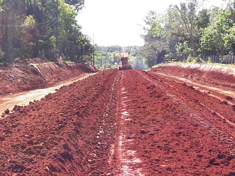 Pavimentación tramo San Cosme - Gral Delgado